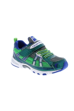 Tsukihoshi Youth Boys Storm in Green/Gray (Sizes 1.5-4) - Product List Image