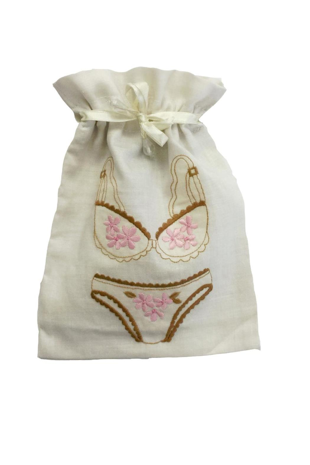 tu-anh Beige Lingerie Pouch - Main Image