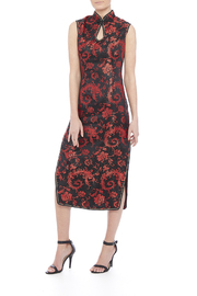 tu-anh boutique Black Cheong Sam - Front full body