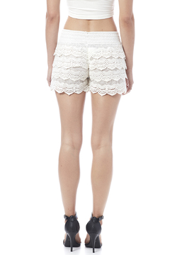 tu-anh boutique Crocheted Shorts - Alternate List Image