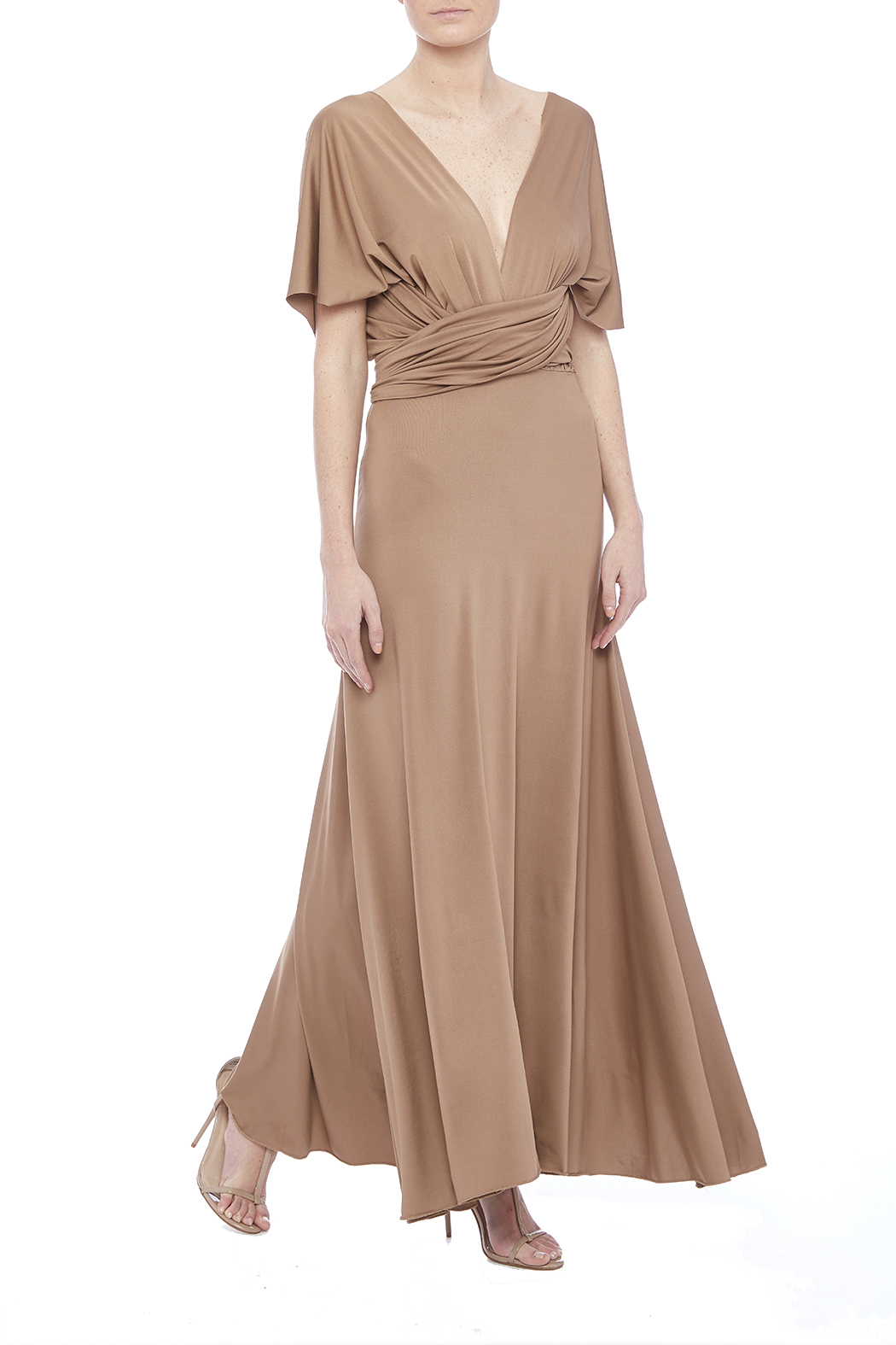 tu-anh boutique Goddess Maxi Dress - Front Full Image