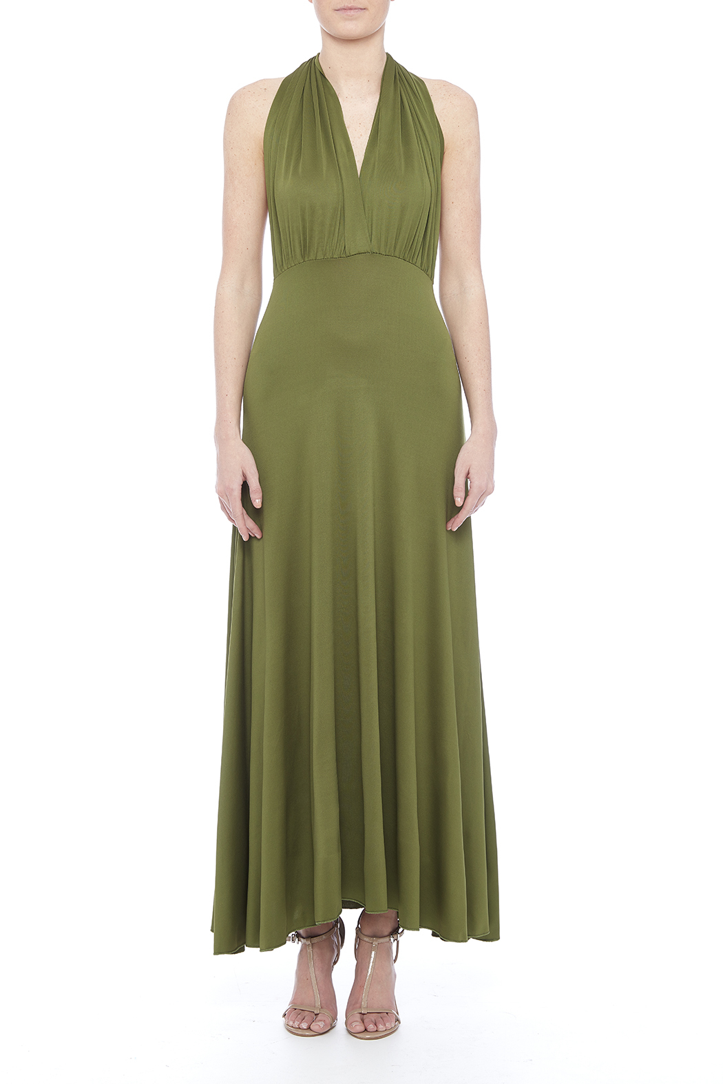 tu-anh boutique Goddess Maxi Dress - Front Cropped Image