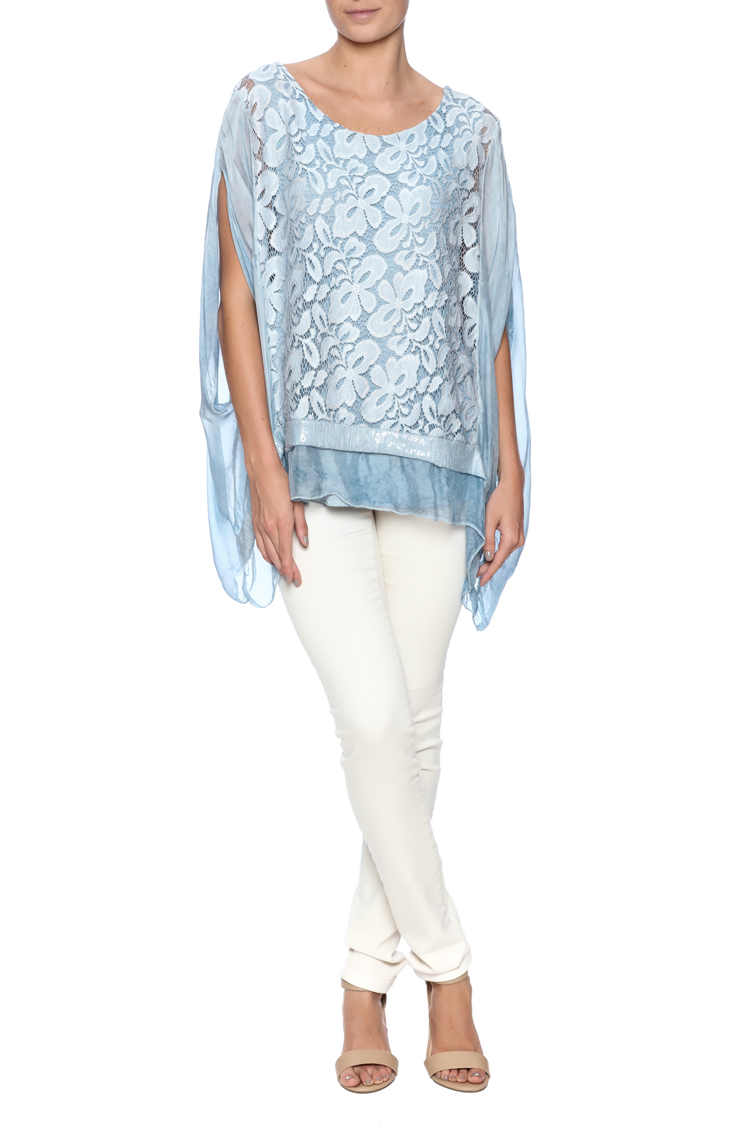 tu-anh boutique Italian Silk Butterfly - Front Full Image