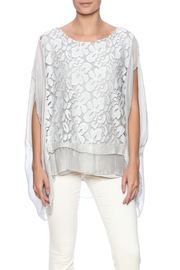tu-anh boutique Italian Silk Butterfly - Front cropped