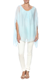 tu-anh boutique Italian Split Top - Front full body