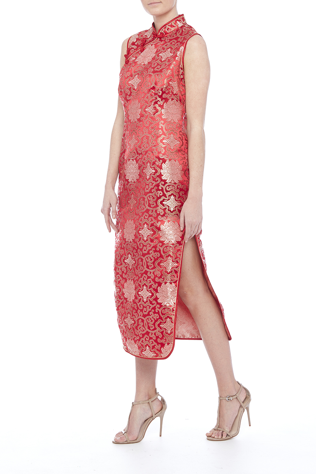 tu-anh boutique Red Cheong Sam - Main Image