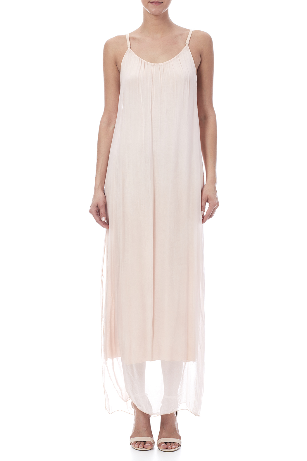 tu-anh boutique Silk Maxi Dress - Front Cropped Image