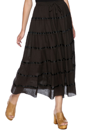 tu-anh boutique Simple Long Skirt - Product Mini Image