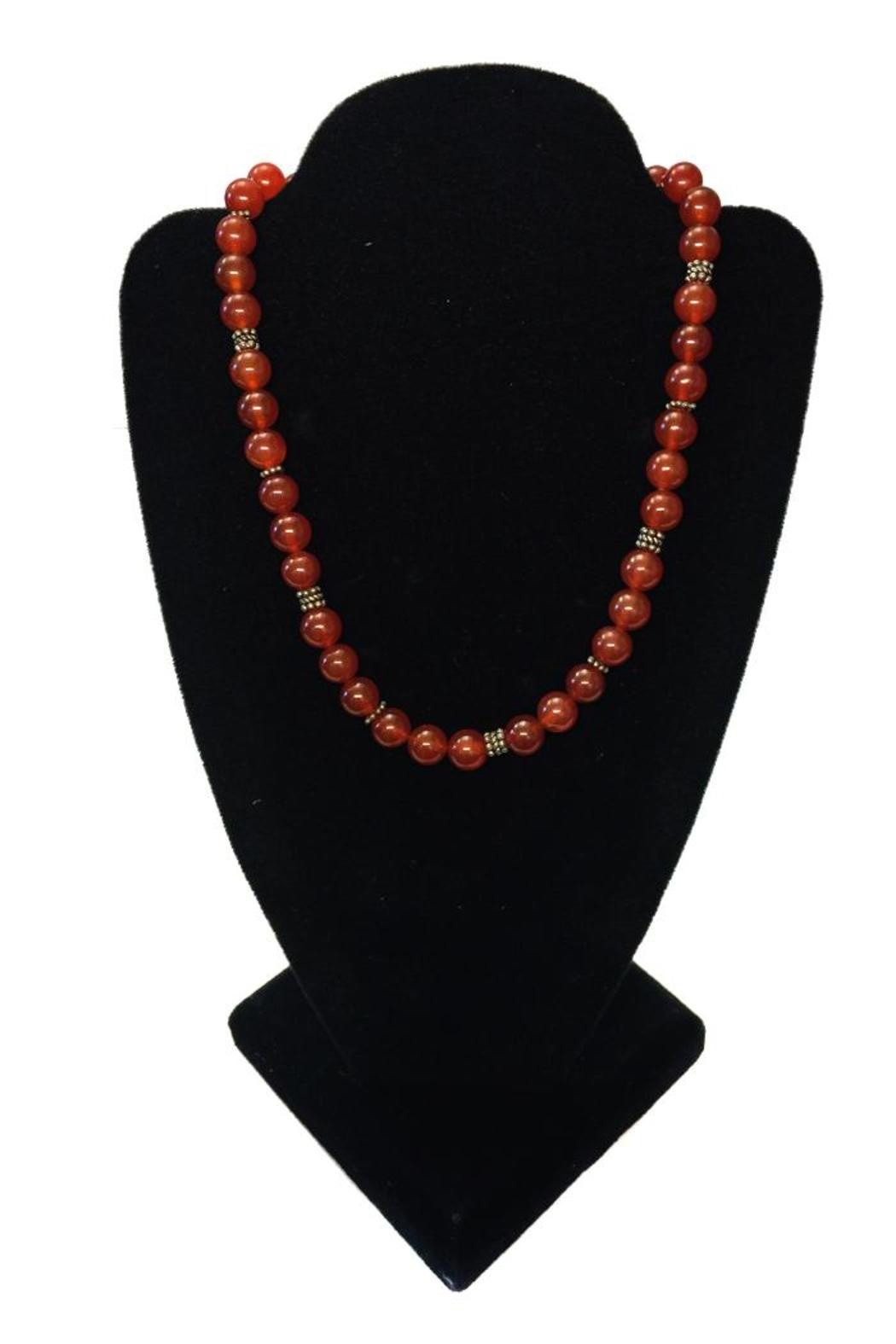 tu-anh Carnelian Necklace - Front Full Image
