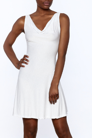 tu-anh Soft Fitted Dress - Front cropped
