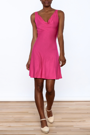 tu-anh Soft Fitted Dress - Front full body