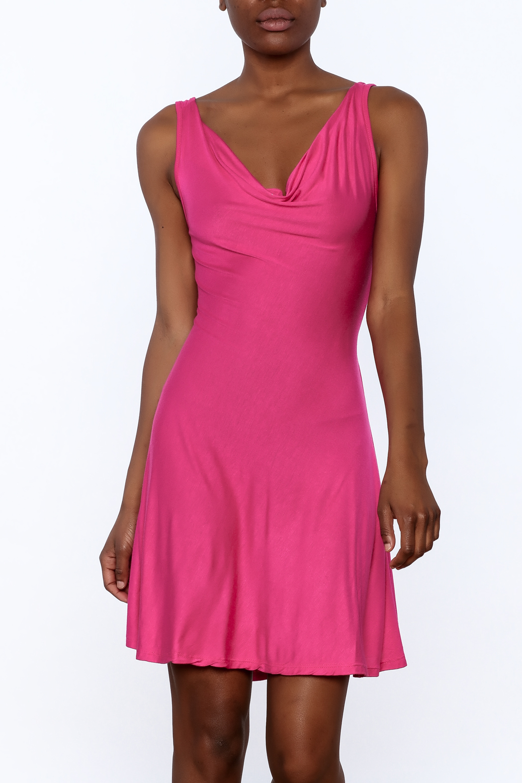 tu-anh Soft Fitted Dress - Main Image