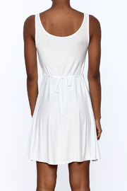 tu-anh Soft Fitted Dress - Back cropped