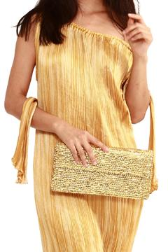 tu-anh Gold Large Clutch - Alternate List Image