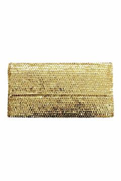 tu-anh Gold Large Clutch - Product List Image