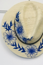 tu-anh Hand-Painted Panama Hat - Product Mini Image