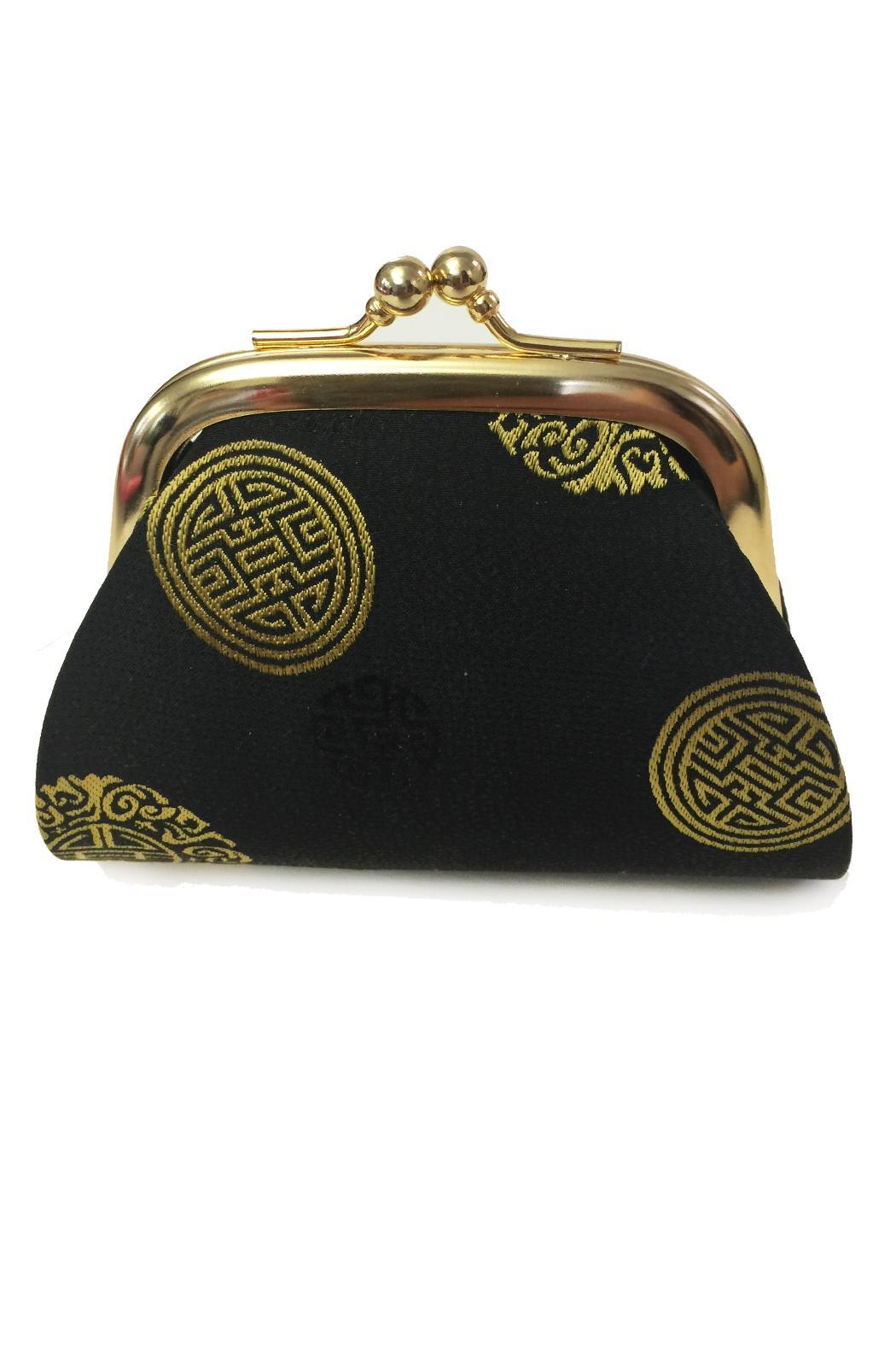 tu-anh Medallion Coin Purse - Front Cropped Image