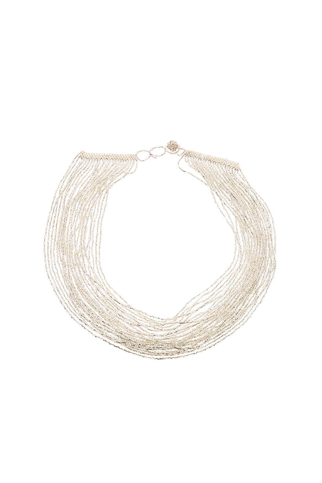 tu-anh Multi-Strand Glass Necklace - Main Image