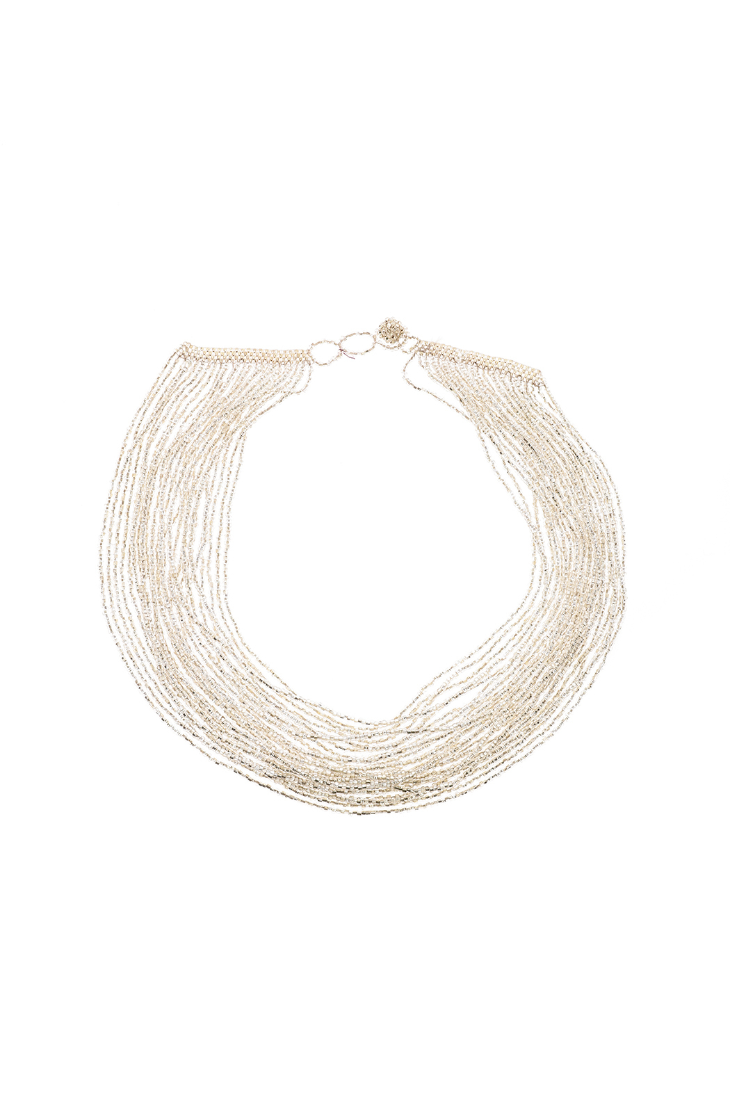 tu-anh Multi-Strand Glass Necklace - Front Cropped Image