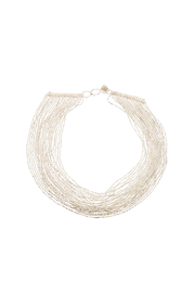 tu-anh Multi-Strand Glass Necklace - Front cropped