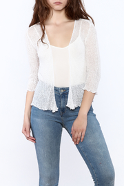 tu-anh Sheer Soft Cardigan - Product Mini Image
