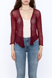 tu-anh Sheer Soft Cardigan - Side cropped