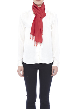 tu-anh Red Silk Scarf - Alternate List Image