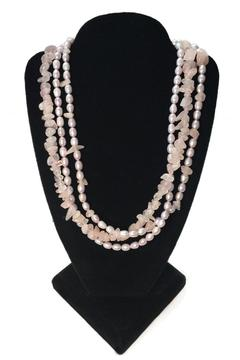 tu-anh Rose Quartz Necklace - Alternate List Image