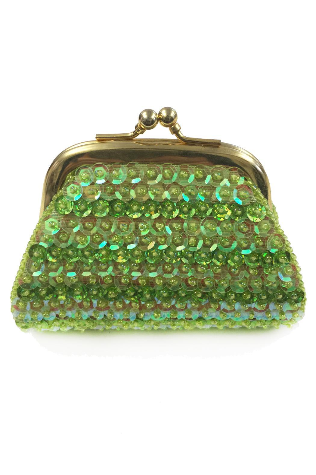 tu-anh Sequin Coin Purse - Front Cropped Image