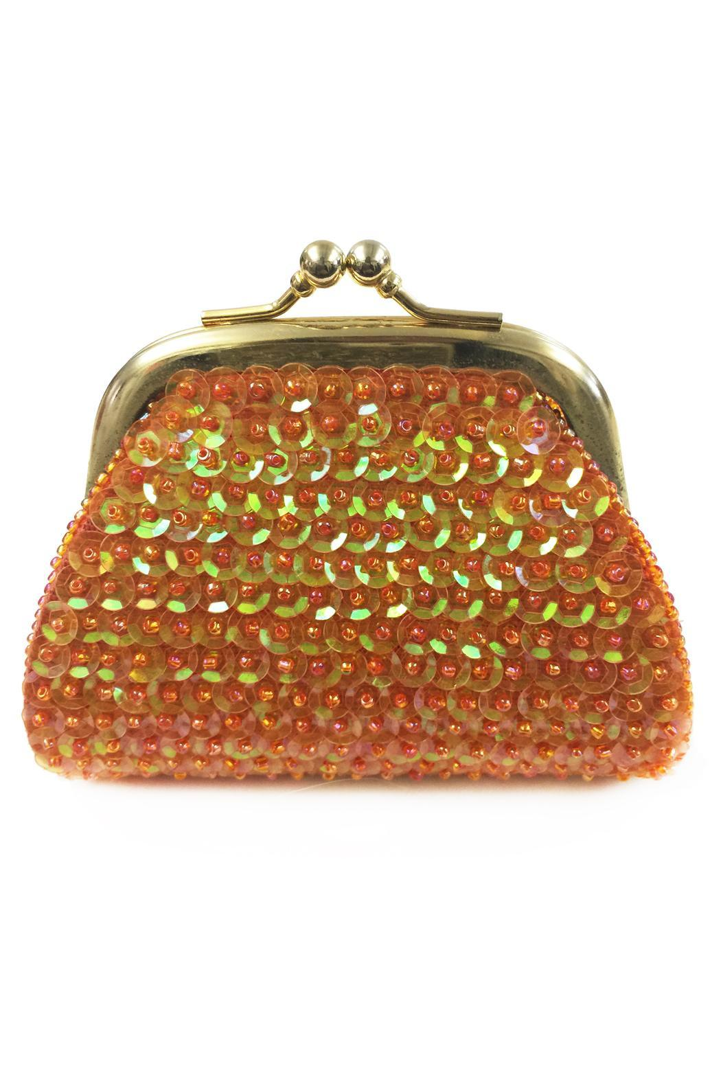 tu-anh Sequin Coin Purse - Front Full Image