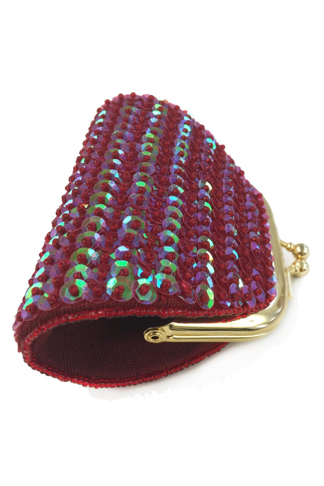 tu-anh Sequin Coin Purse - Side Cropped Image