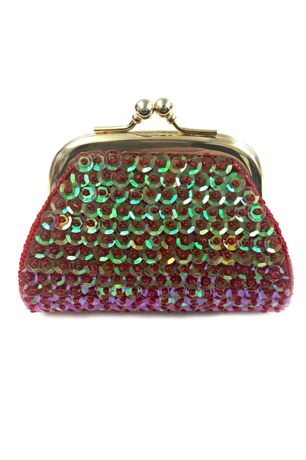 tu-anh Sequin Coin Purse - Main Image