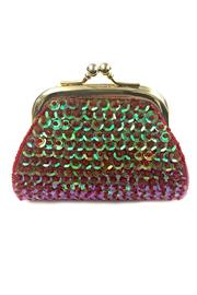 tu-anh Sequin Coin Purse - Front cropped