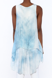 tu-anh Silk Breeze Tunic Dress - Back cropped