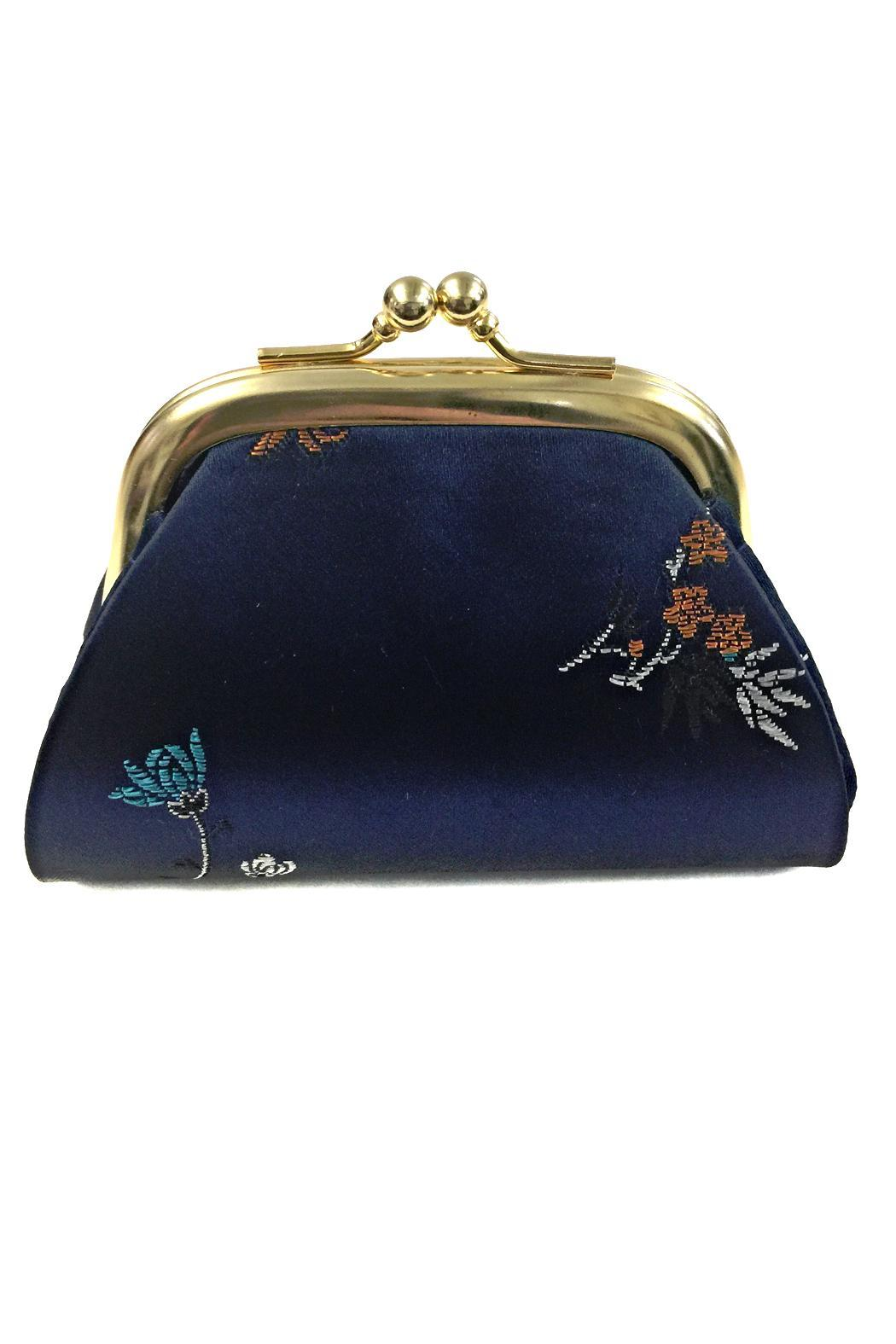 tu-anh Silk Coin Purse - Front Cropped Image