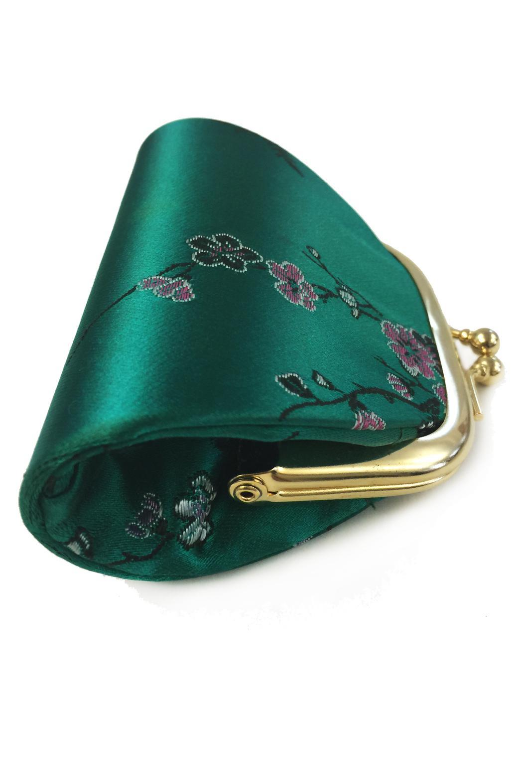 tu-anh Silk Coin Purse - Front Full Image