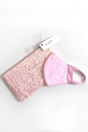 tu-anh Tu-Anh Sequin Clutch & Face Mask Set - Product Mini Image