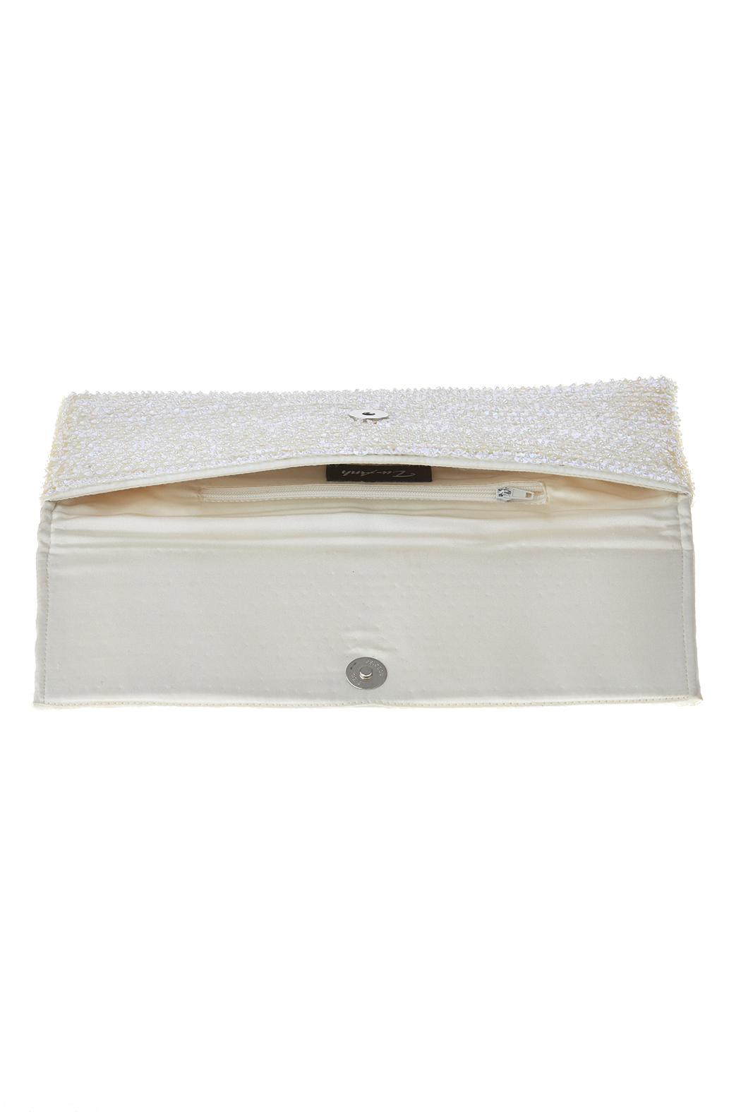 tu-anh White Large Clutch - Front Full Image
