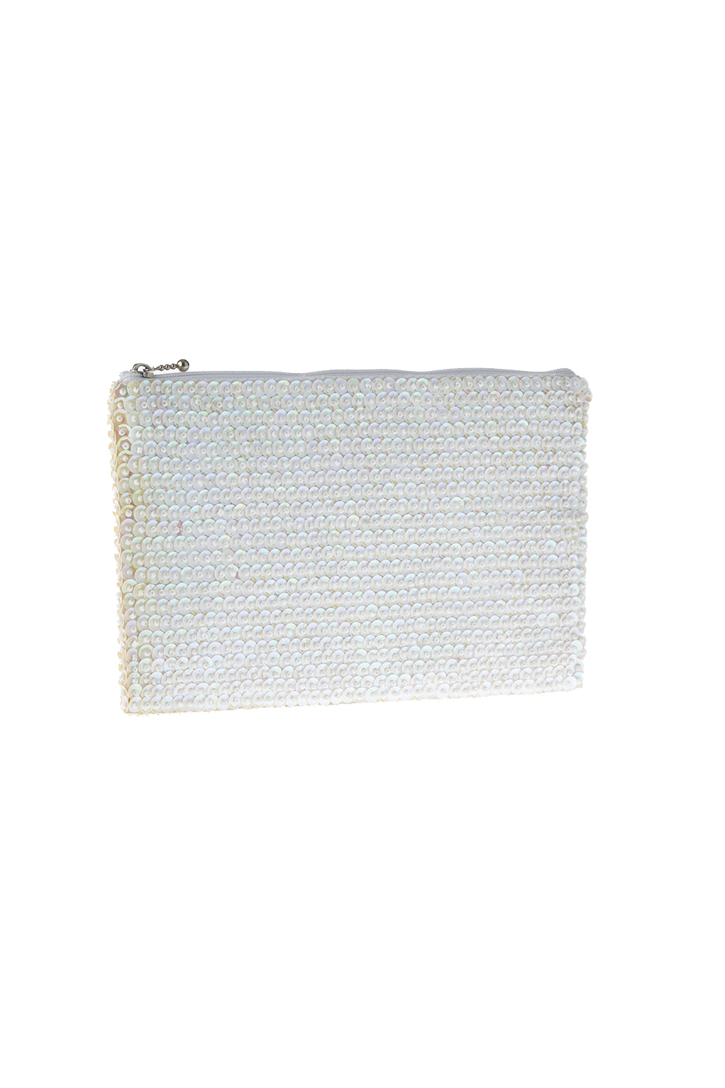 tu-anh White Signature Clutch - Main Image