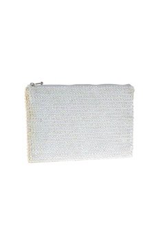 tu-anh White Signature Clutch - Product List Image
