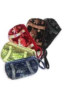 tu-anh boutique Beaded Velvet Clutches - Product List Image