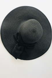 tu-anh boutique Black Bow Sunhat - Side cropped