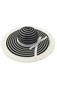 tu-anh boutique Black & White Sunhat - Product List Image