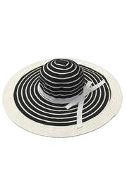 tu-anh boutique Black & White Sunhat - Product Mini Image