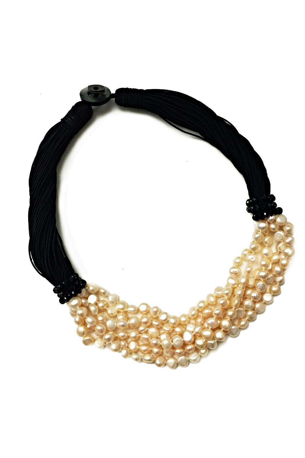 tu-anh boutique Blush Pearl Necklace - Main Image