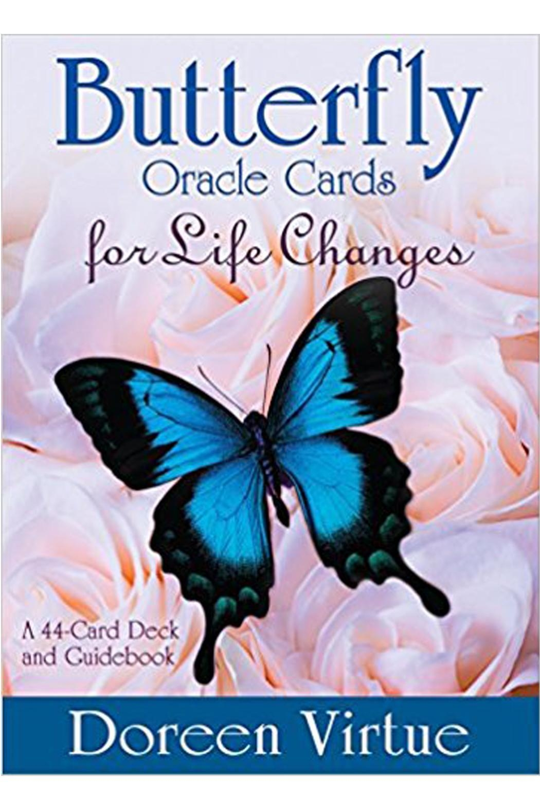tu-anh boutique Butterfly Oracle Cards - Front Cropped Image