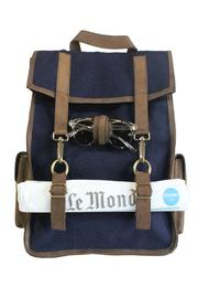 tu-anh boutique Survey Evolution Denim Bag - Product Mini Image