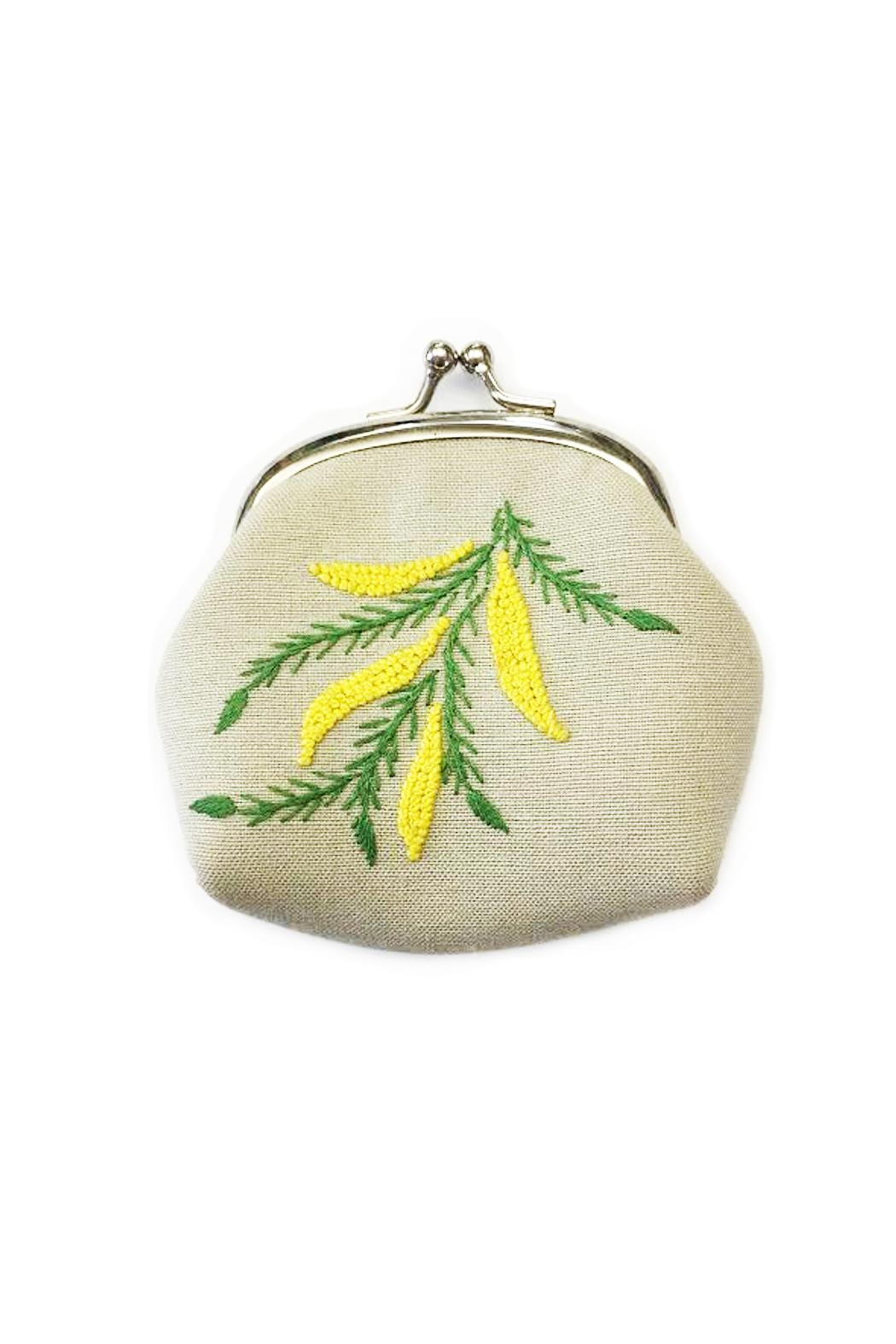 tu-anh boutique Embroidered Silk Purse - Main Image