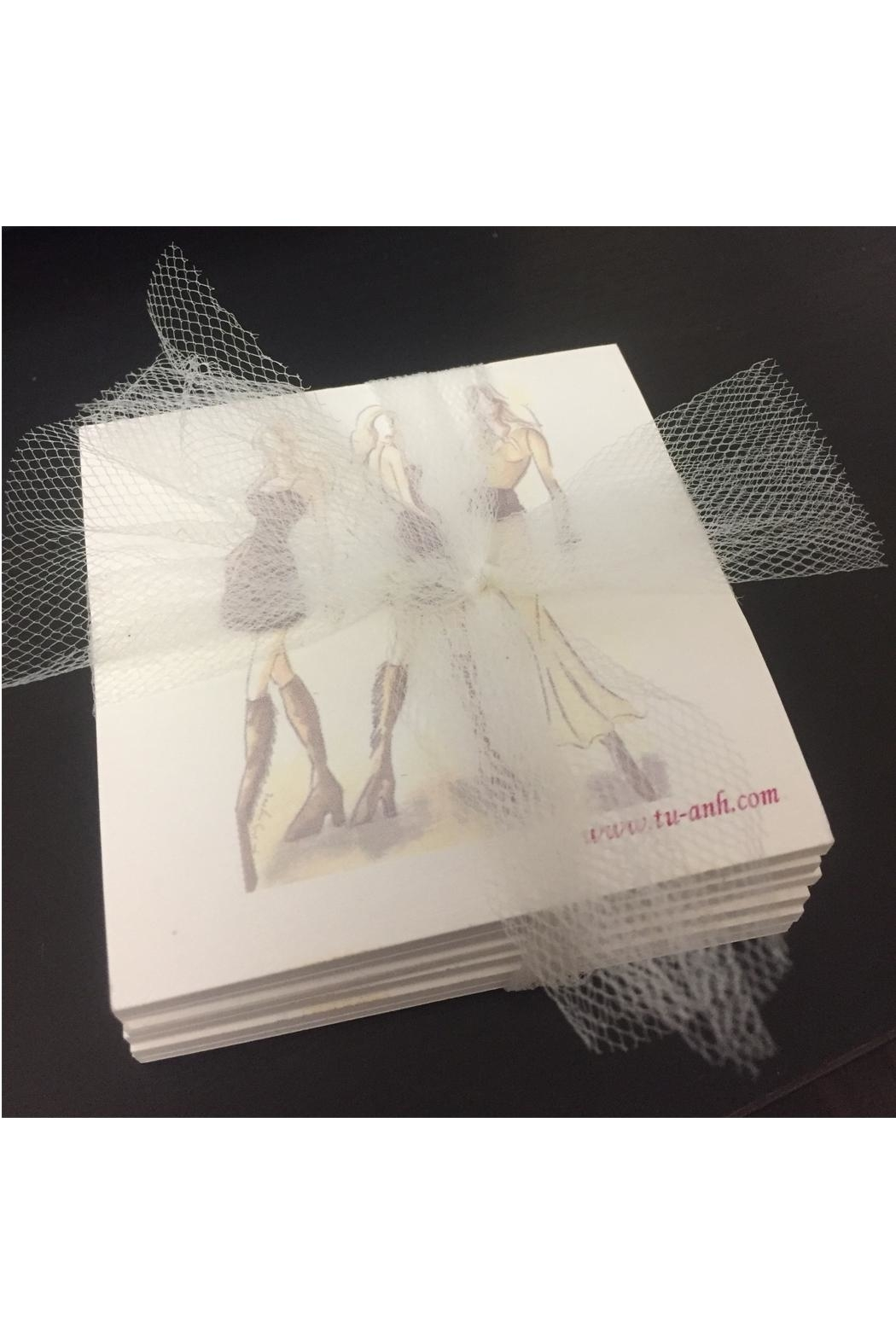 tu-anh boutique Fashion Sticky Notepads - Front Full Image