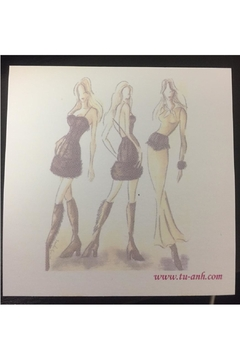 tu-anh boutique Fashion Sticky Notepads - Product List Image